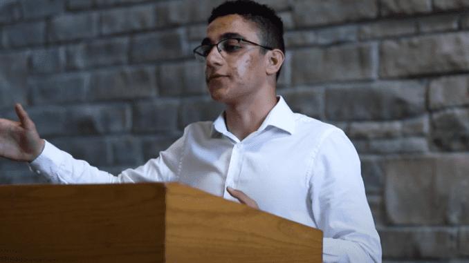 Valedictorian Youssef Gendy